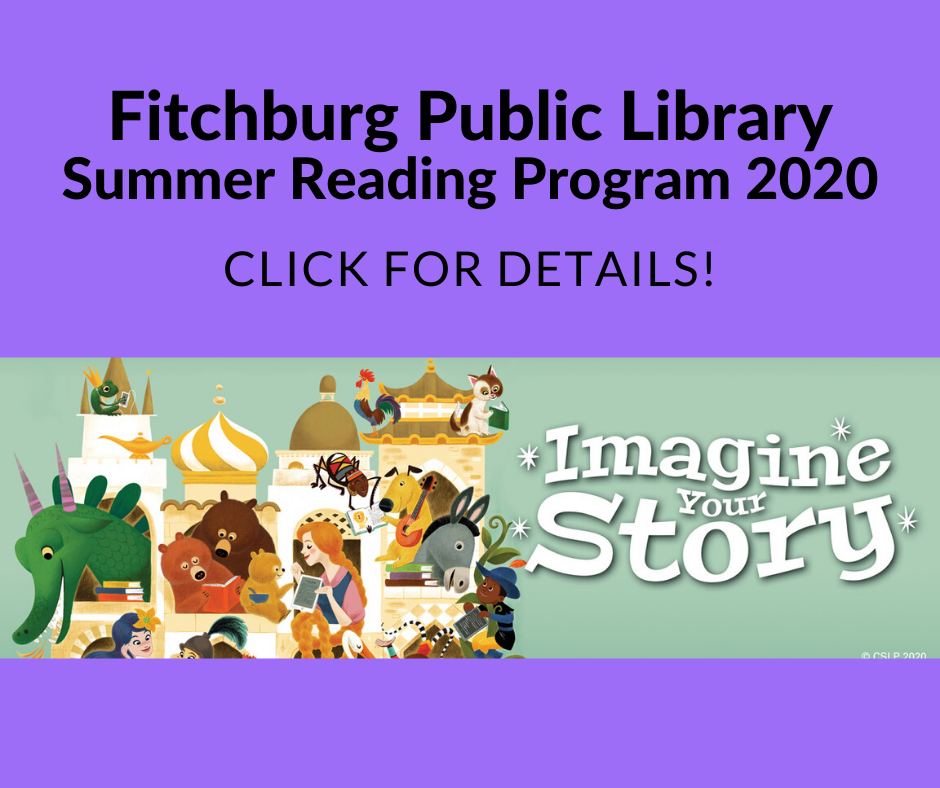 Fitchburg Public Library Summer Reading Program 2020